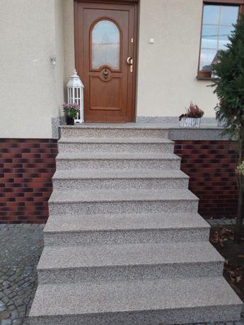 Schody Granitowe Granit Stopień Granitowy Parapety Płytki Granitowe