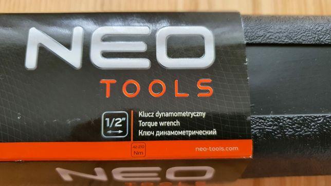 Klucz dynamometryczny Neo Tools 1/2 42-210 Nm