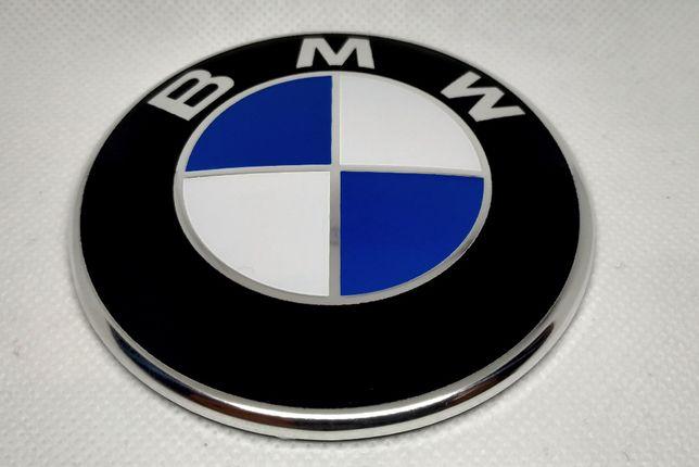 Emblemat, Logo, Znaczek BMW (82mm) F10 (2piny)