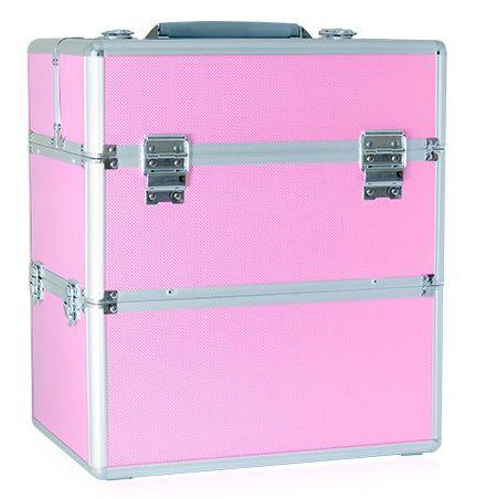 Kuferek kufer kosmetyczny na akcesoria kosmetyki lakiery itd Duży