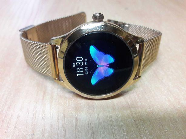 Smartwatch damski KW 10 wersja Gold