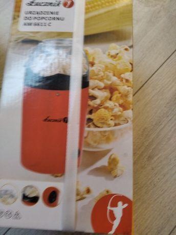 Nowa maszynka urządzenie do robienia popcornu Łucznik