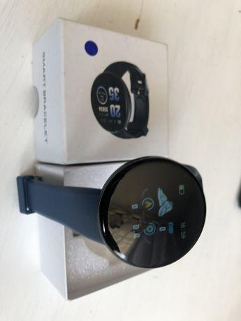 Smartwatch Opaska Sportowa Czujnik Tętna OLED niebieski