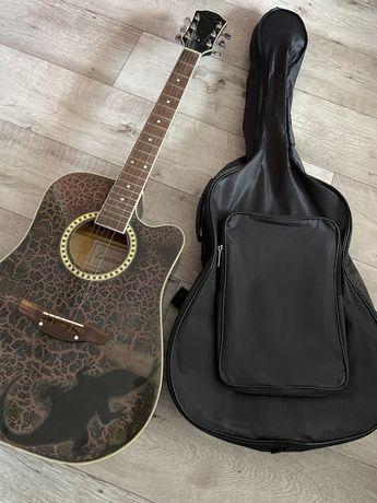 Гитара Leoton+ чехол в подарок