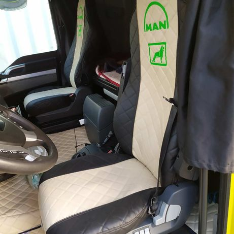 Pokrowce siedzeń eko skóra volvo Man Scania Renault Mercedes Daf