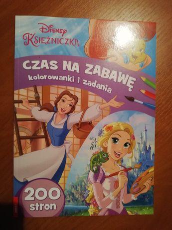 """Nowa - """"Disney Księżniczka"""" kolorowanka dla dziewczynki 200 stron"""