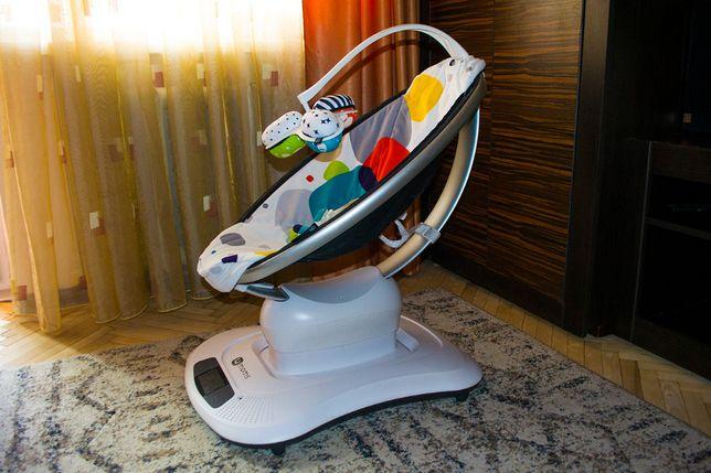 Укачивающий центр, крісло гойдалка, качелька, люлька 4moms mamaro 3.0
