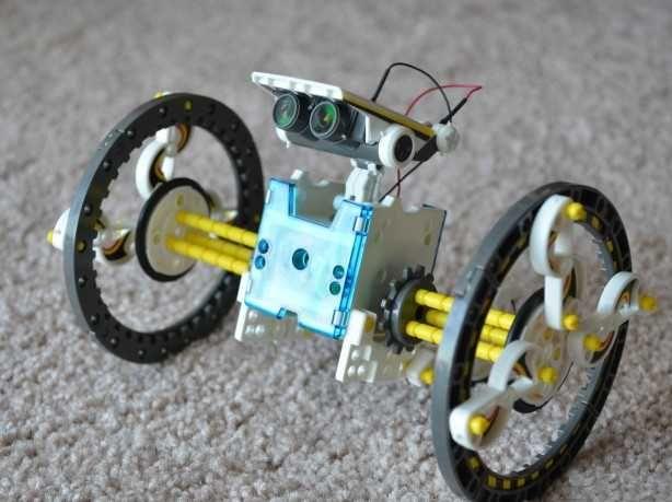 Конструктор на 14ед. моделей / солнечный робот 14в1 - Solar /