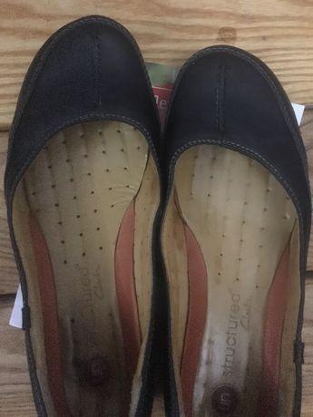 Туфли 39р кожа Clark's