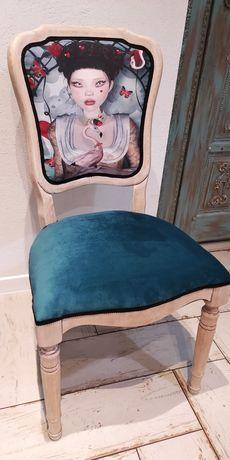 Krzesło stylizowane