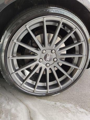 Felgi 19 cali 5x112 9.5 jj do Audi ,Seata ,Skody ,VW + opony