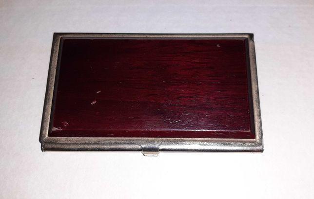 Визитница металлическая для банковских и дисконтных карт