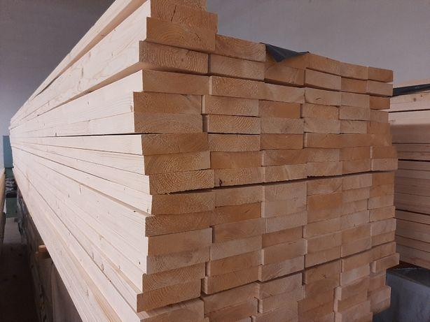 drewno konstrukcyjne C24 45x195x6000 sucha więźba dachowa świerk sosna