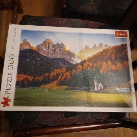 Puzzle Trefl 1500 el krajobraz górski