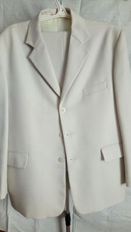 Нарядный белый костюм МІА-СТИЛЬ (р.56/3)