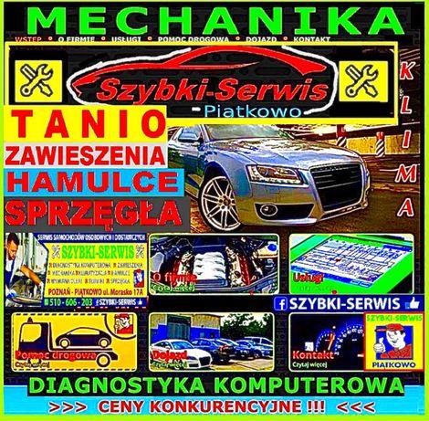 Mechanik Samochodowy*WarsztatSerwisKlimatyzacjiPoznańPomoc Drogowa