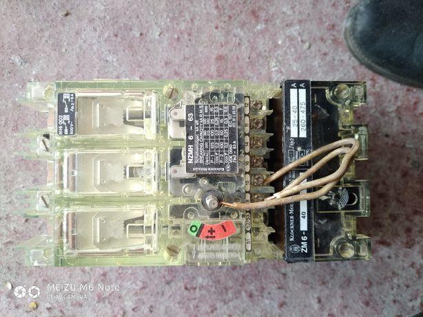 Автоматичний вимикач Klockner moeller NZMH6-63