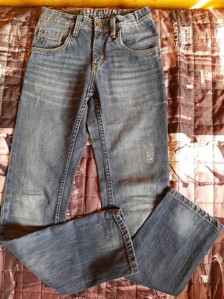 Spodnie jeansy chłopięce rozm.158 cm marka włoska Garcia