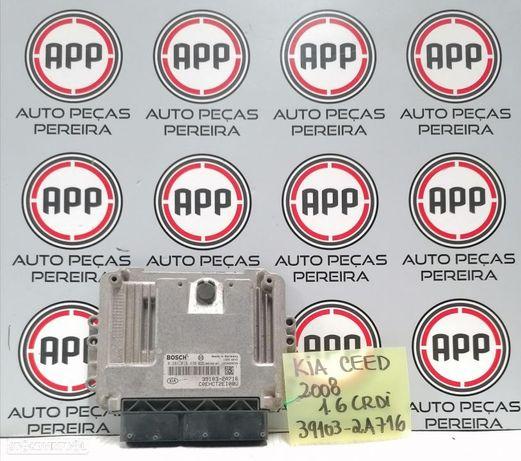 Centralina motor Kia Ceed 08 1.6 CRDI referência 0281015438, 39103-2A716.