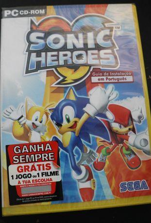 Sonic Heroes (Pc) NOVO Selado