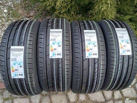 Opony Bridgestone 225/45/17 Nowe 2021rok
