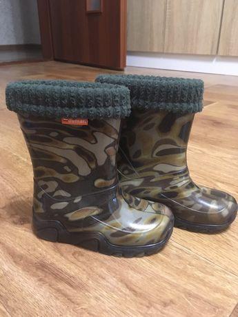 Резиновые сапожки Demar гумові чоботи демар