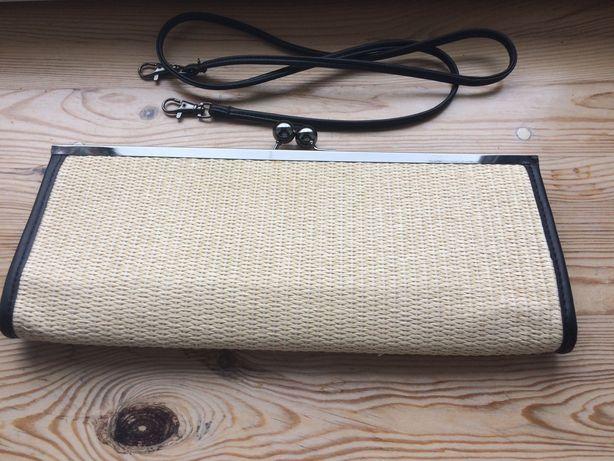 Solar EKO z celulozy idealna na lato torebka kopertówka pasek odpinany