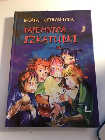 Tajemnica szkatułki - beata ostrowicka - ksiazka dla dzieci, mlodziezy