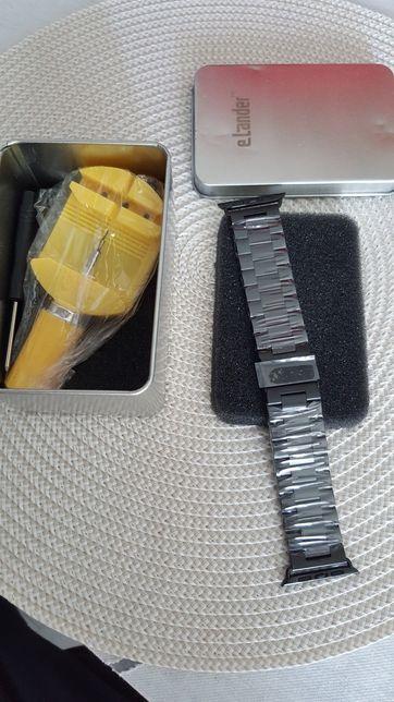 Bransoleta metalowa smartwatch Apple Watch
