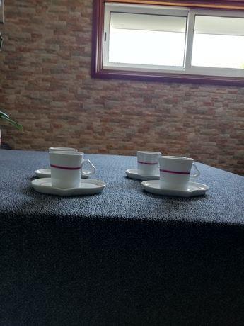 Chávenas serviço de café