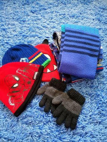 Шапки, шарфы, рукавицы