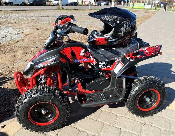 Бензиновый новый детский квадроцикл 65 куб. см