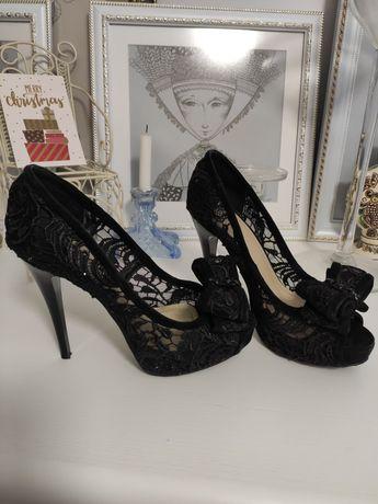 Шикарные туфли 24 см стелька