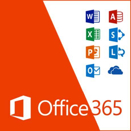 Microsoft Office 365 PC/MAC pakiet roczny