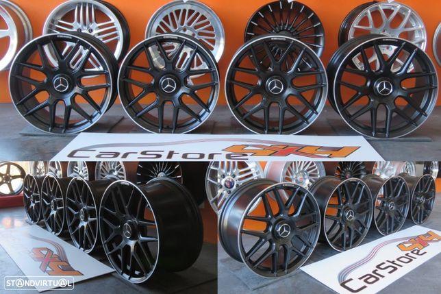 Jantes Look Mercedes AMG A45 18 x 8 et45 5x112 Preto