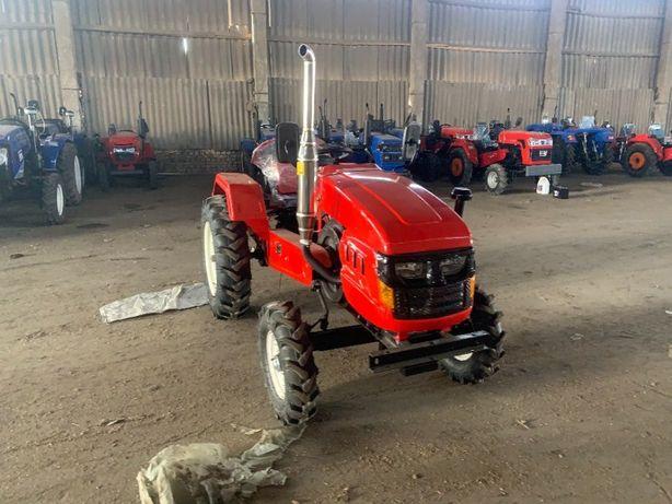 Мини трактор Зубр Т240 с Трёхточечным навесным оборудованием