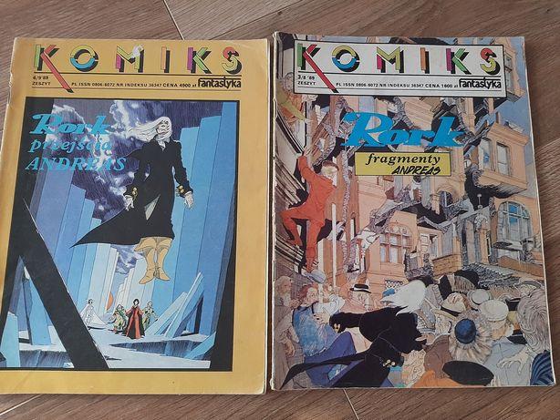 Komiks Rork 1989