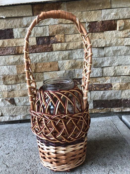 Плетена баночка. Иза - изображение 1