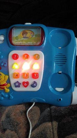 Музыкальная игрушка машина телефон.