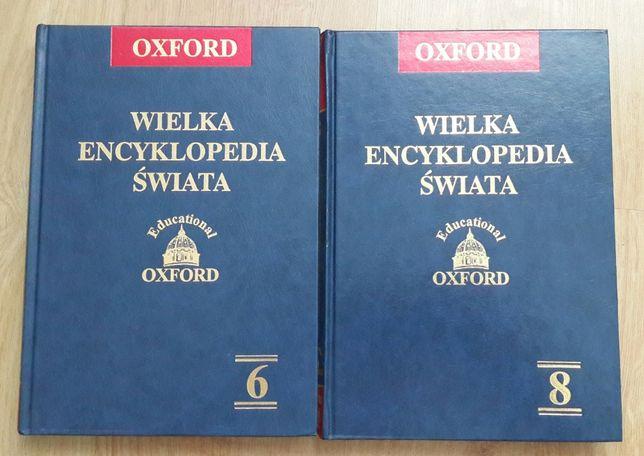 Encyklopedia Świata OXFORD TOM 6 i TOM 8