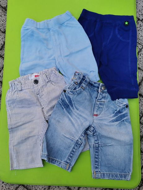 Komplet spodnie r. 68