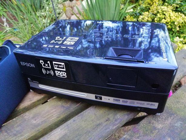 Projektor, odtwarzacz DVD, Epson