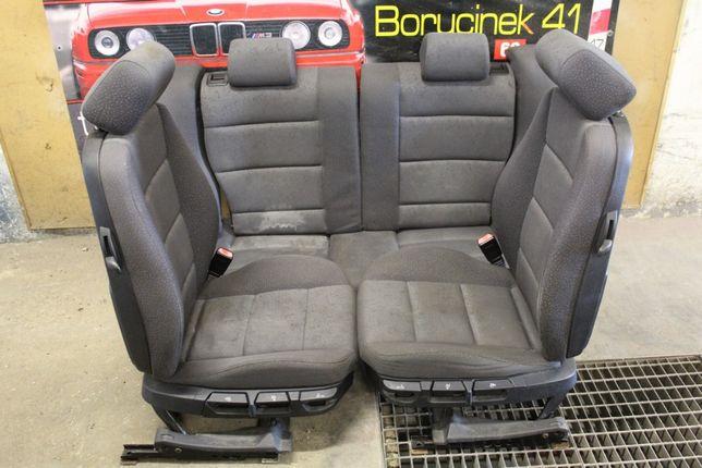 BMW E36 Compact Coupe Fotele Kanapa Ciemno Szare Polift Części BMA