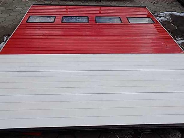 Brama garażowa panelowa , segmentowa 403x435cm