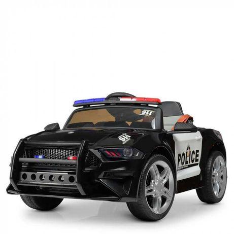 Электромобиль детский FORD MUSTANG POLICE ,Дитячий електромобіль