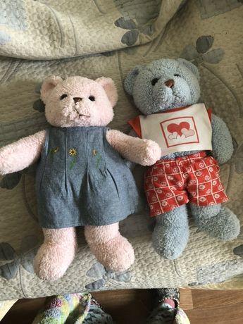Мягкая игрушка медведь и медведица