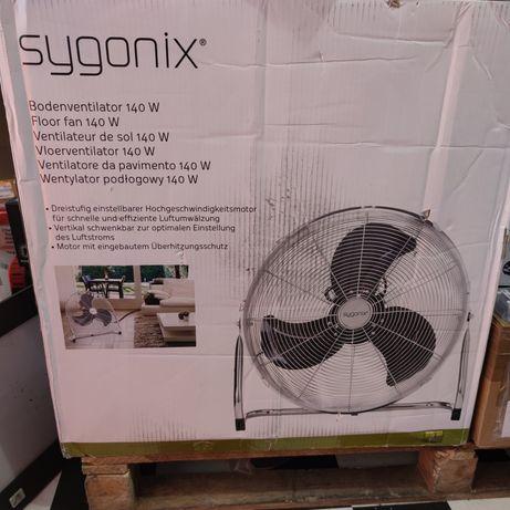 Duży wentylator podłogowy Sygonix