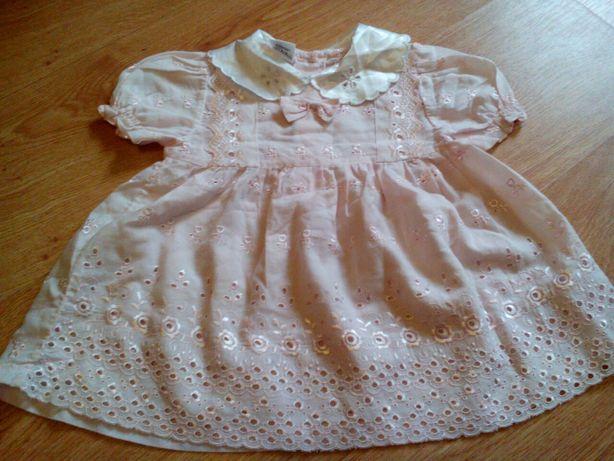Нарядное платье на лето 1-2года