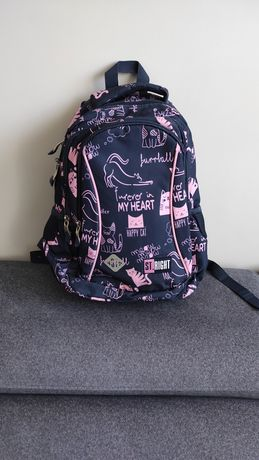 Plecak szkolny plus piornik