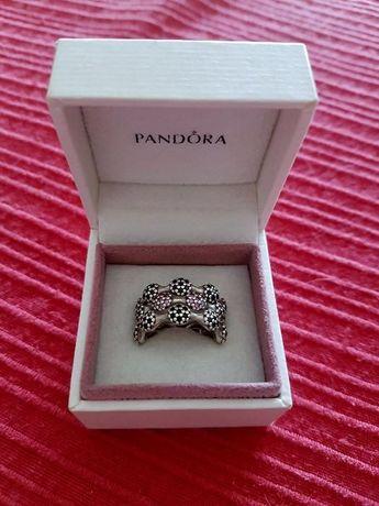 Três anéis de prata da Pandora Originais